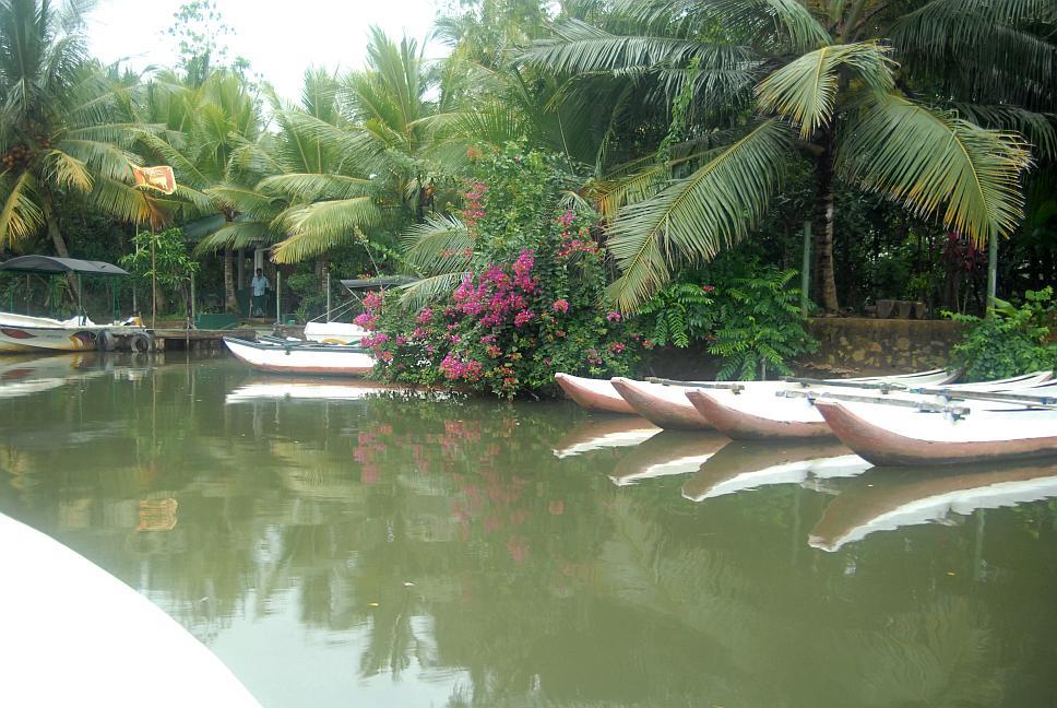 Návrat z boat safari, Srí Lanka