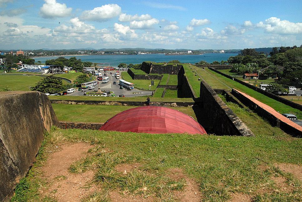 Galle, pevnost, Srí Lanka