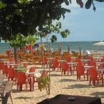 Srí Lanka – 5. den – pláž Unawatuna, restaurace The Rock a západ slunce