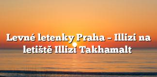 Levné letenky Praha – Illizi na letiště Illizi Takhamalt