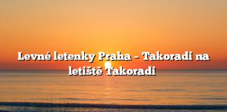 Levné letenky Praha – Takoradi na letiště Takoradi