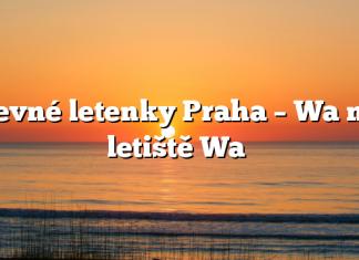 Levné letenky Praha – Wa na letiště Wa