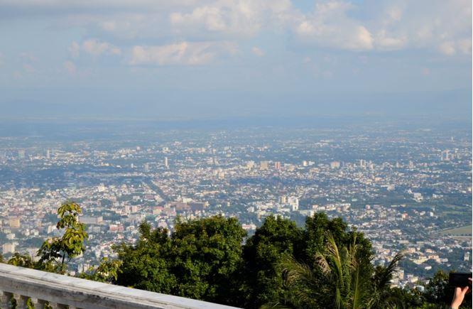 Vyhlídka nad městem