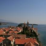 Ostrov Rab v Chorvatsku