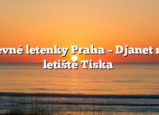 Levné letenky Praha – Djanet na letiště Tiska