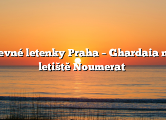 Levné letenky Praha – Ghardaia na letiště Noumerat