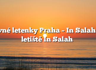 Levné letenky Praha – In Salah na letiště In Salah