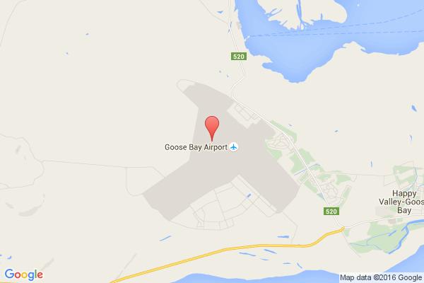 levné letenky Praha - Goose Bay na letiště Goose Bay v Severní Ameriku
