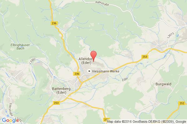 levné letenky Praha - Allendorf na letiště Allendorf Eder v Evropu