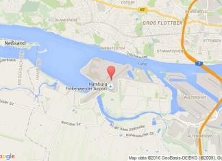 levné letenky Praha - Hamburg na letiště Hamburg Finkenwerder v Evropu