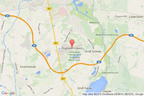 levné letenky Praha - Luebeck na letiště Lubeck Blankensee v Evropu
