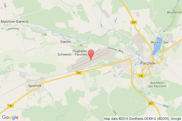 levné letenky Praha - Parchim na letiště Schwerin Parchim v Evropu