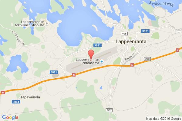 levné letenky Praha - Lappeenranta na letiště Lappeenranta v Evropu